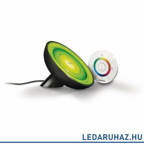 Philips Living Colors Bloom asztali LED lámpa, fekete, 1x8W, 7099730PH