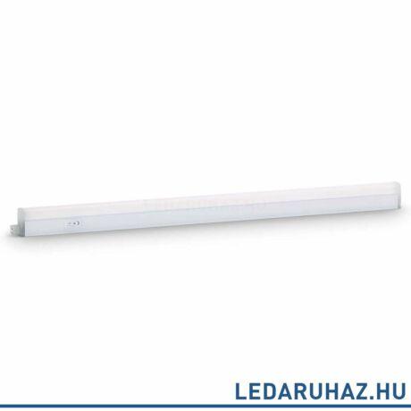 Philips Linear LED pultvilágító, beépített LED, fehér, 2700K melegfehér, 12W, 84,8 cm hosszú, 3123131P0