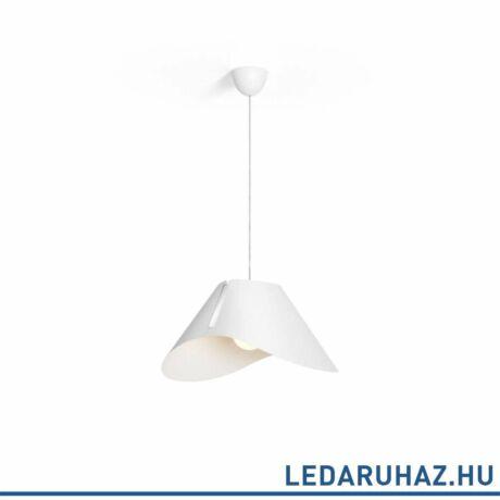 Philips Ecru fehér függesztett lámpa E27 foglalattal, 57,2 cm átmérő, 4095031PN