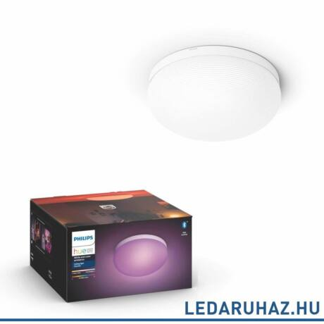 Philips Hue Flourish LED mennyezeti lámpa, fehér, RGBW, 2400 lm, 32W, 4090431P9, Bluetooth+Zigbee