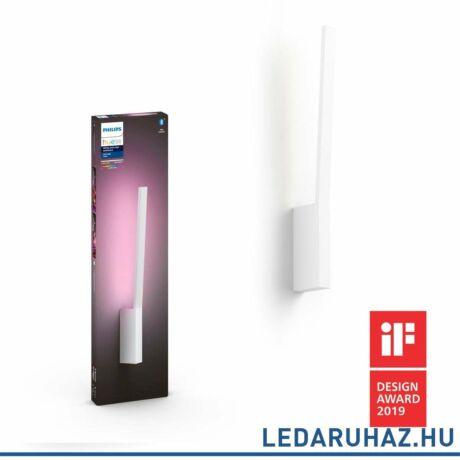 Philips Hue Liane fali LED lámpa, fehér, 12W, 24V, IP20, RGBW, 4090231P9, Bluetooth+Zigbee