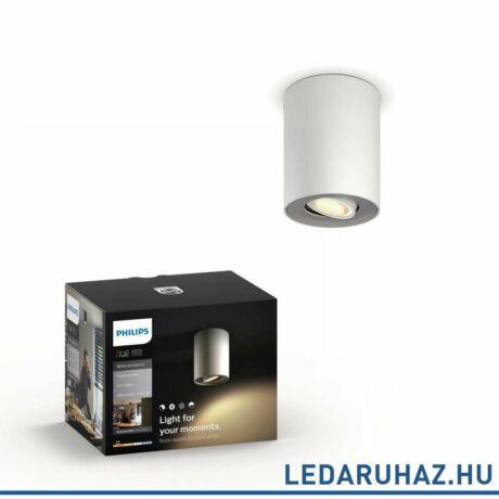 Philips Hue Pillar fehér mennyezeti LED lámpa GU10 spot 2200K-6500K 56330/31/P8