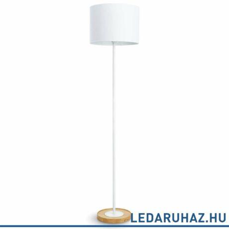 Philips Limba fehér állólámpa E27 foglalattal, max.40W, 150 cm magas