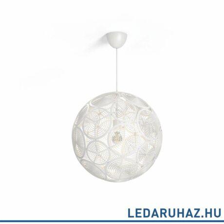 Philips Ring fehér függesztett lámpa E27 foglalattal, 50,3 cm átmérő, 4091331PN