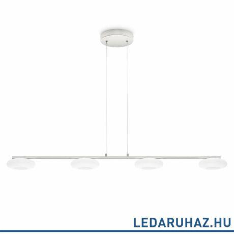 Philips Tarbert alumínium LED függesztett lámpa, 4x4,5W, beépített LED, 102,3 cm hosszú, 372154816