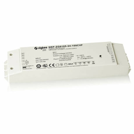 Zigbee 3.0 230V/24V RGBW LED szalag vezérlő,  Philips Hue rendszerhez, Apple HomeKit, TouchLink