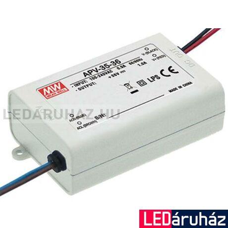 24V LED tápegység Mean Well APV-35-24