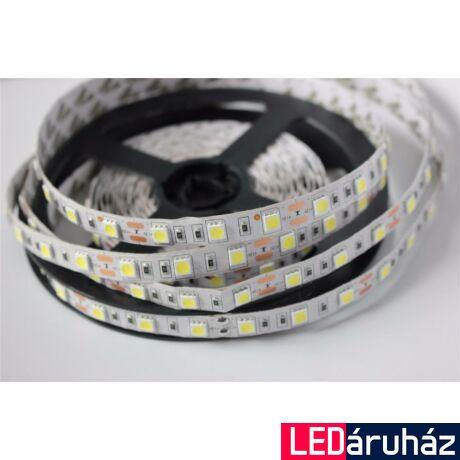 RGB SMD LED szalag, 5050 24V 60 LED/m, beltéri, 14,4W