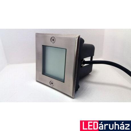 12V melegfehér IP67 rozsdamentes talajba süllyeszthető LED lámpa