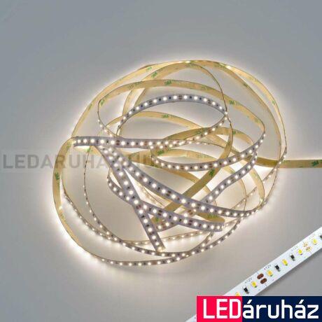 Természetes fehér CRI 90 4000K SMD LED szalag, 2216 LED, 12V, beltéri 120 LED/m, 880lm/m, 9,6W, 2 év garancia