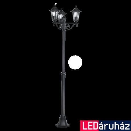 EGLO 22145 LATERNA 4 kültéri állólámpa, fekete + ajándék LED fényforrás