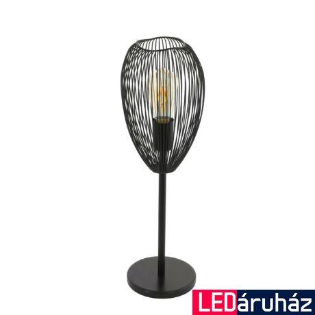 EGLO 49144 CLEVEDON fekete, asztali lámpa, E27 foglalattal, 55cm magas, max. 1x60W