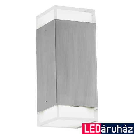 EGLO 93364 TABO-LED kültéri fali LED lámpa, nemesacél