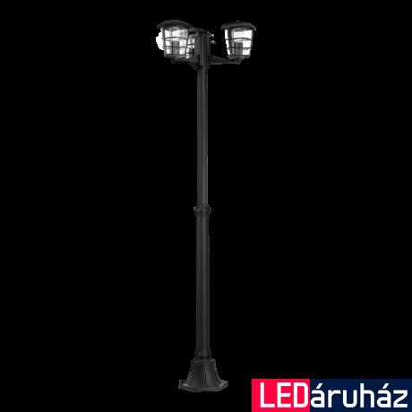 EGLO 93409 ALORIA kültéri állólámpa, fekete + ajándék LED fényforrás