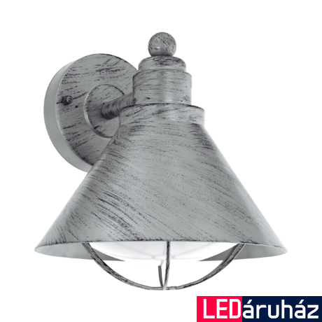 EGLO 94859 BARROSELA kültéri fali lámpa, antik ezüst