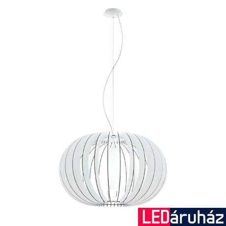 EGLO 95608 STELLATO 2 Fa függesztett lámpa, 70cm, fehér, E27 foglalattal + ajándék Access távirányítós(11807) LED fényforrás