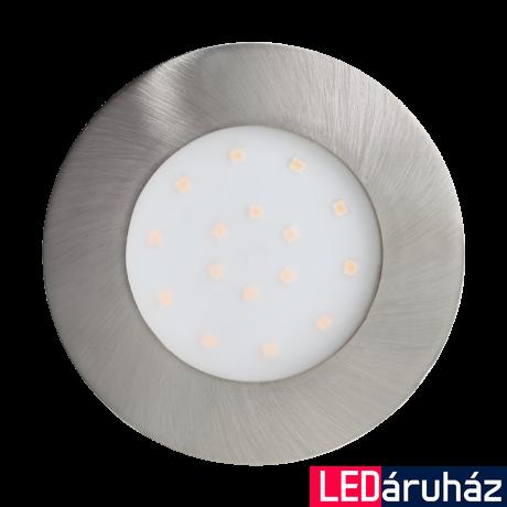 EGLO 96417 PINEDA-IP beépíthető lámpa, LED2W, 3000K, 0, 2cm IP44 nikkel