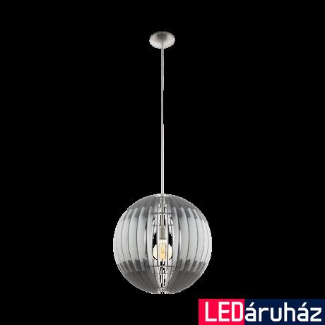EGLO 96973 OLMERO Fa függesztett lámpa, 50cm, szürke/fehér, E27 foglalattal + ajándék Access távirányítós(11807) LED fényforrás