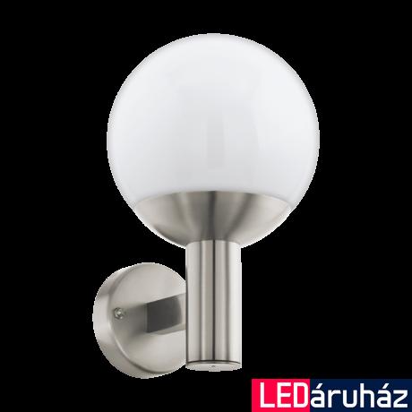 EGLO 97247 NISIA-C kültéri fali lámpa, nemesacél + ajándék LED fényforrás