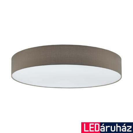 EGLO 97621 PASTERI Szürke mennyezeti lámpa, 7 db. E27 foglalattal, 98cm átmérő, 7x60W + ajándék LED fényforrás