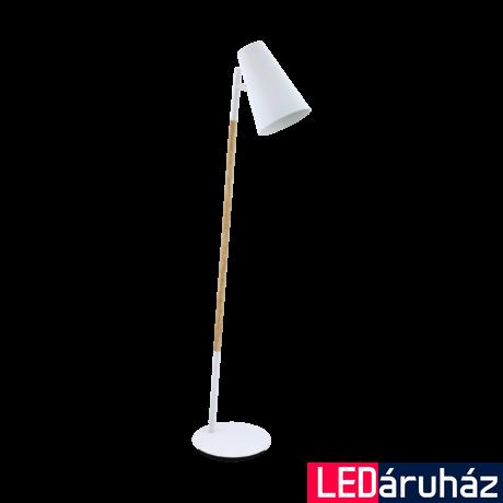EGLO 98028 ARASI Fehér állólámpa, E27 foglalattal, 140cm magas, max. 1x40W + ajándék Access távirányítós(11807) LED fényforrás
