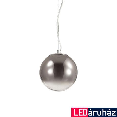 IDEAL LUX MAPA függesztett lámpa E27 foglalattal, max. 60W, 30 cm átmérő, füstüveg 140728