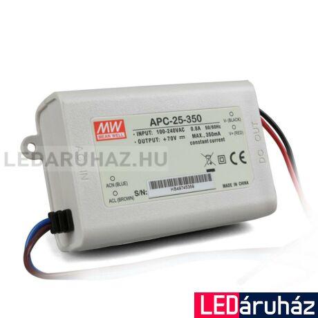 LED tápegység Mean Well APC-25-700 25W/11-36V/700mA  áramgenerátor