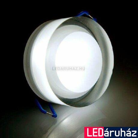 Ledium Crystallo süllyesztett LED lámpa, kör, 3W, 15V, 440 lm, 2200K-6500K változtatható fehér