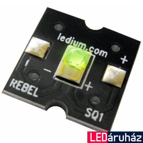 Luxeon Rebel zöld  SQ1 3W  LED panel - 40 lm@350 mA