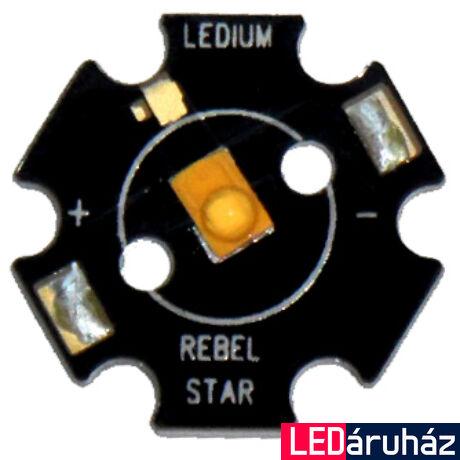 Luxeon Rebel Star 3W  LED, zöld, LXML-PM01-0050, 50 lm/W