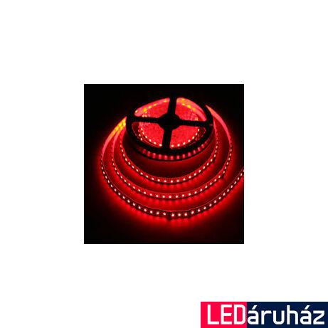 Piros SMD LED szalag 12V 3528 , 120 LED/m, 9,6W, 2 év garancia