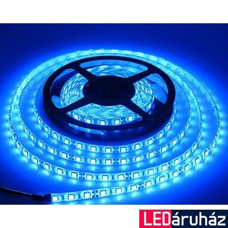 Kék SMD LED szalag 12V 5050, beltéri 60 LED/m, 14,4W