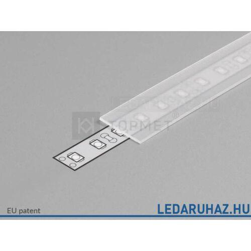 Topmet LED profil előlap B szatén - 76250039 - 2m