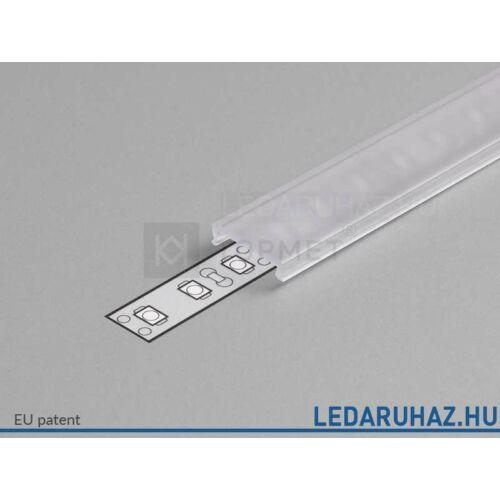 Topmet LED profil előlap C víztiszta - 76330000 - 2m