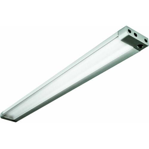 Mozgásérzékelős LED-es, süllyeszhető fiókvilágítás, alumínium, fokozatos, 3 lépcsős dimmer, 24V CD, 4,3W, 4000K, 100 cm