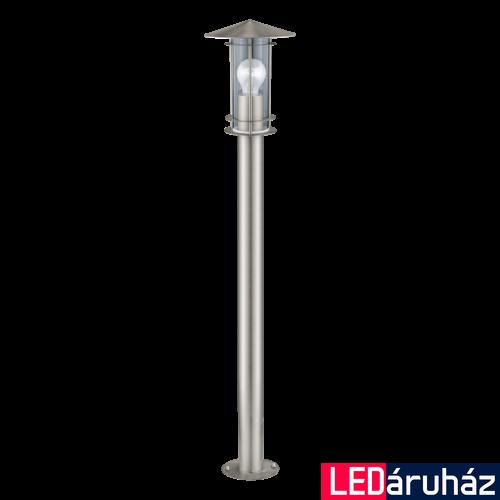 EGLO 30188 LISIO kültéri állólámpa, nemesacél + ajándék LED fényforrás