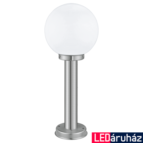EGLO 30206 NISIA kültéri állólámpa, nemesacél + ajándék LED fényforrás