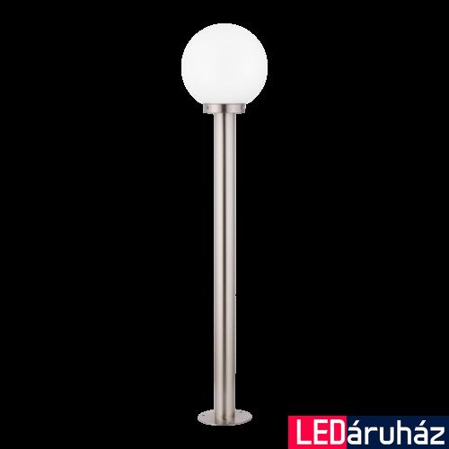 EGLO 30207 NISIA kültéri állólámpa, nemesacél + ajándék LED fényforrás