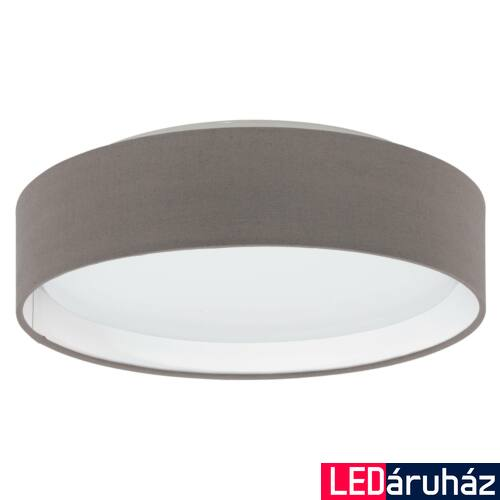 EGLO 31593 PASTERI mennyezeti lámpa, barna, 11W, 950 lm, beépített LED, IP20