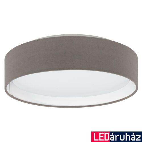 EGLO 31593 PASTERI mennyezeti lámpa, barna, 11W, 950 lm, 3000K melegfehér, beépített LED, IP20