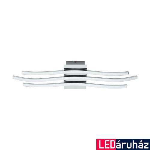 EGLO 31995 RONCADE fali/mennyezeti lámpa, króm, 26W, 2400 lm, 3000K melegfehér, beépített LED, IP20