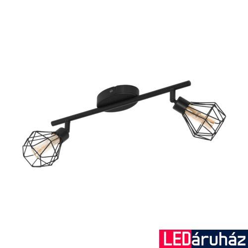 EGLO 32766 ZAPATA 1 fali/mennyezeti lámpa, fekete, G9 foglalattal, max. 2x3W, IP20
