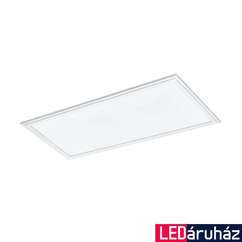 EGLO 33108 SALOBRENA-RGBW álmennyezeti LED panel, fehér, szögletes, 2400 lm, 4000K természetes fehér, beépített LED, 21W, IP20, 300x600 mm