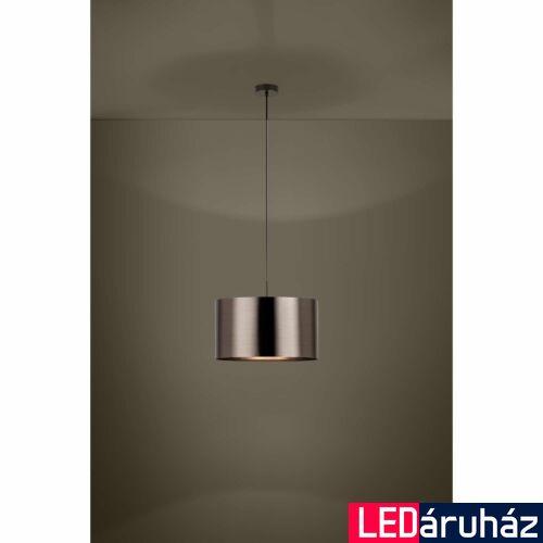 EGLO 39356 SAGANTO 1 függesztett lámpa, 45cm átmérő, barna/réz, 1 db. E27foglalattal, 1x60W + ajándék LED fényforrás