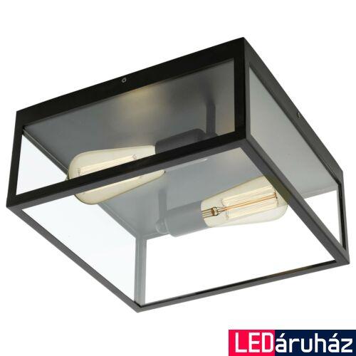 EGLO 49392 CHARTERHOUSE mennyezeti lámpa, fekete, E27 foglalattal, max. 2x60W, IP20