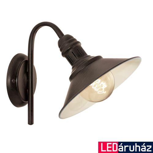 EGLO 49458 STOCKBURY fali lámpa, barna, E27 foglalattal, max. 1x60W, IP20