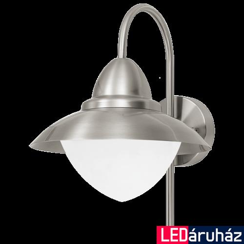 EGLO 83966 SIDNEY kültéri fali lámpa, nemesacél + ajándék LED fényforrás