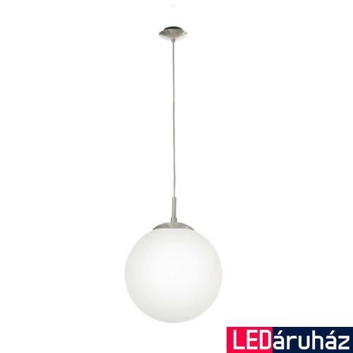 EGLO 85263 RONDO Függesztett lámpa, opál üvegburával, 30cm átmérő, E26 + ajándék LED fényforrás