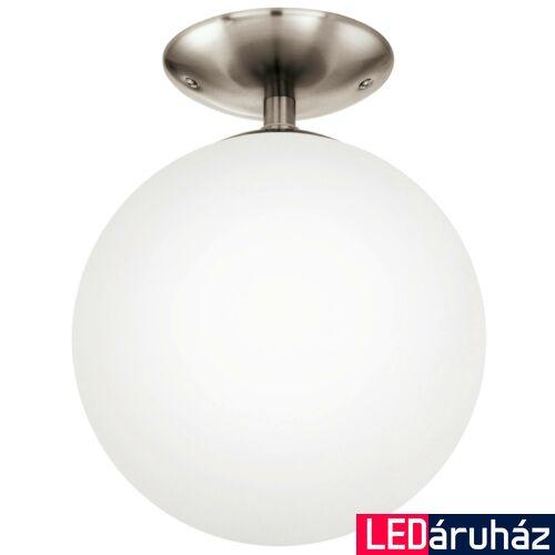 EGLO 91589 RONDO Mennyezeti lámpa, opál üvegburával, 25cm átmérő, E26 + ajándék LED fényforrás