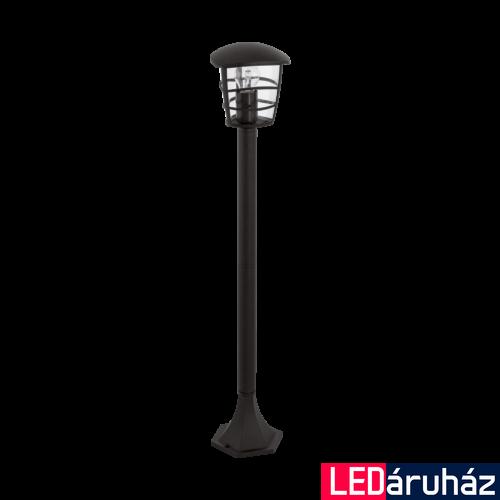 EGLO 93408 ALORIA kültéri állólámpa, fekete, E27 foglalattal, IP44 + ajándék LED fényforrás